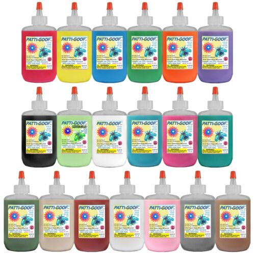 PATTI-GOOP 19-PACK MADE FOR CREEPY BUGS TOYS AND RUBBERY SLITHERY CRAWLERS