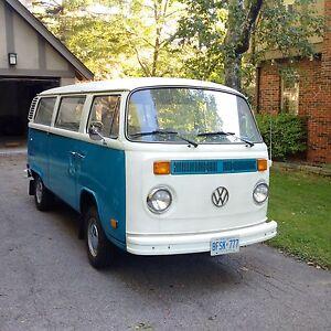 1977 VW Bus - Mint Original Condition