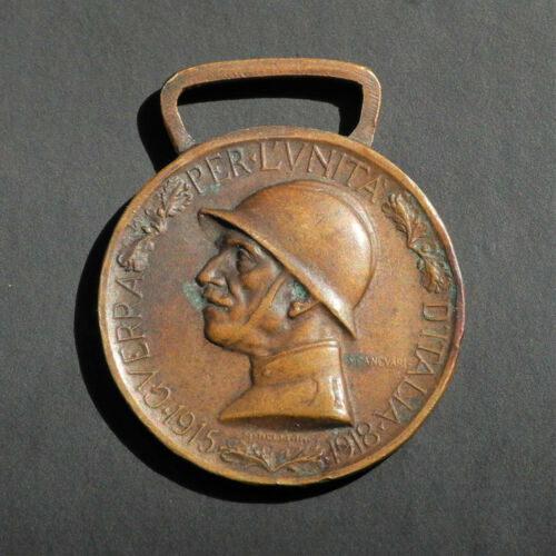 WW I ITALY Service Medal ITALIAN 1915-1918 First World War