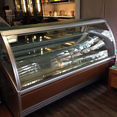 Ifi Aktiva Ventelated Refrigerated Pastry Case 85 Lenght 120 Volt