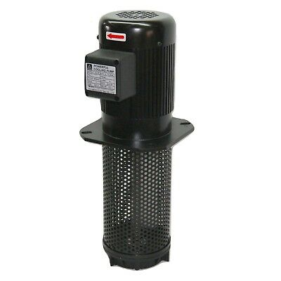 12hp Lathe Cnc Circulation Coolant Pump 3 Phase 240480v 240mm 9.4 Npt 1