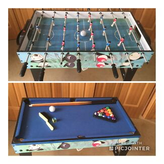 Soccer/Pool table in one One Tree Hill Playford Area Preview