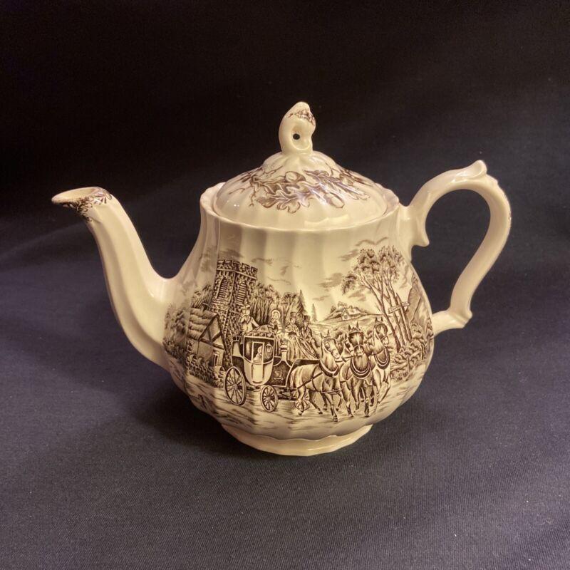 Royal Mail Fine Staffordshire Ironstone Teapot Myott England China