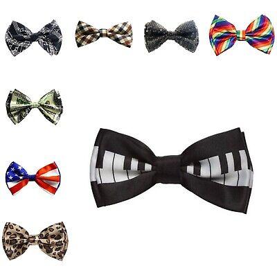 Black Sequins Men Silk Bowties Wedding Self Tie Party Formal Tuxedo (Black Tie Suits)