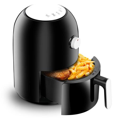 Mini Oil-less Air Fryer 1.8qt Compact Detachable Fryer with