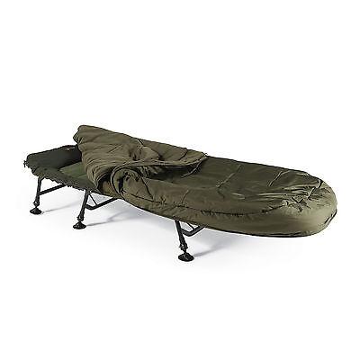 Cyprinus Sleep System Carp Bed chair and sleeping bag Combo Fishing Camping deal