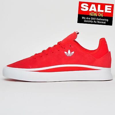 Adidas Originals Sabalo Mens Classic Casual Retro Skater Trainers Red