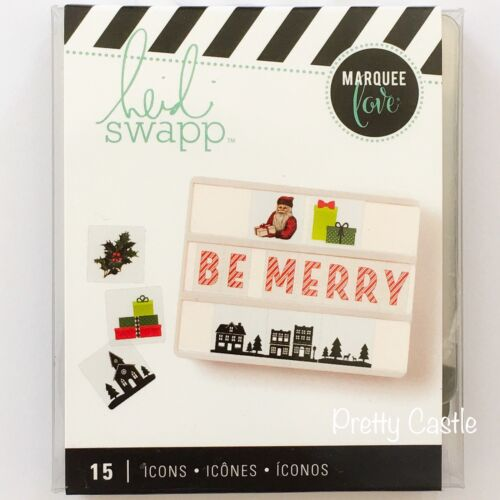 NEW Heidi Swapp™ Marquee Love® Lightbox Inserts, Christma