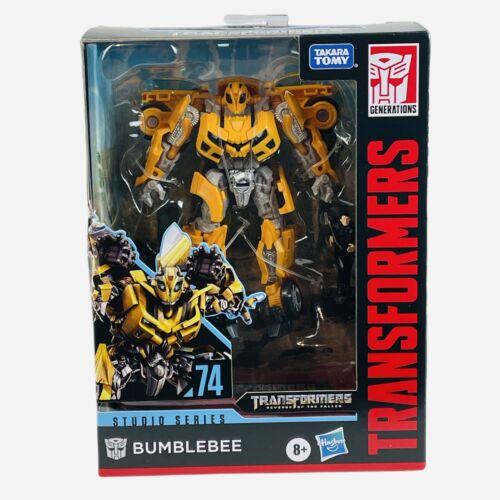 """Transformers Studio Series 74 BUMBLEBEE Deluxe Class 6"""" Inch Hasbro Figure NEW"""