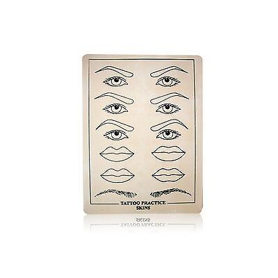 Permanent Makeup Nadel Übungshaut flach Augen verschiedene Stückzahlen ()