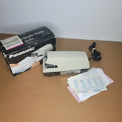 Panasonic Commercial Electric Stapler-as-300 Tested