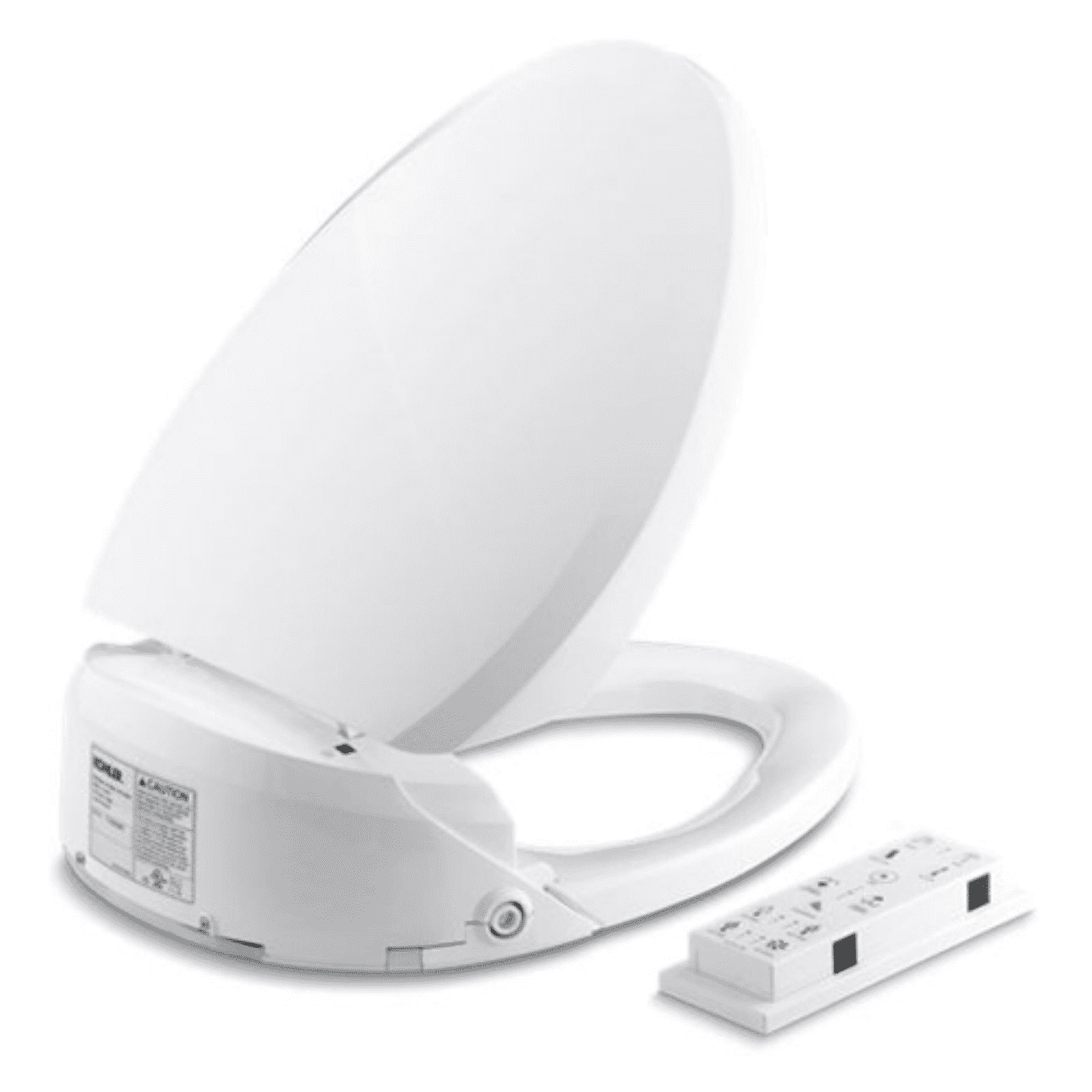 Super Kohler K 4744 White Elongated Toilet Seat With Bidet Functionality Inzonedesignstudio Interior Chair Design Inzonedesignstudiocom