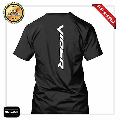 Dodge Viper Logo  New Vertical 2 Days Sale  Race Car Lover Sports Cars  T Shirt