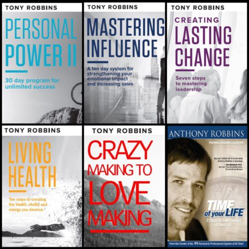 Tony Robbins - Personal Power II, Time of Your Life, Creating Lasting Change