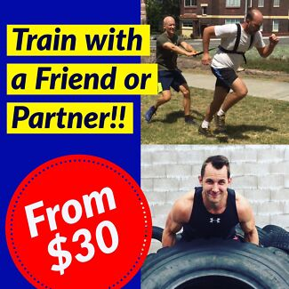 Personal Training >> Train with a Friend!!
