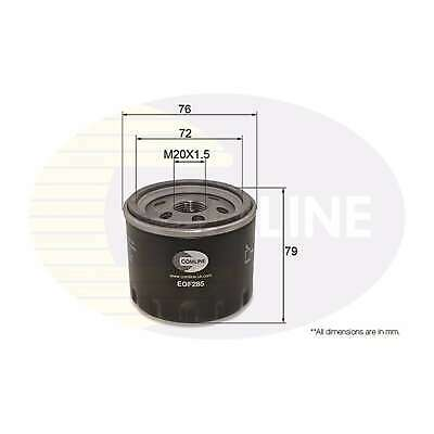Fits Renault Captur 1.5 dCi 90 Genuine Comline Engine Oil Filter