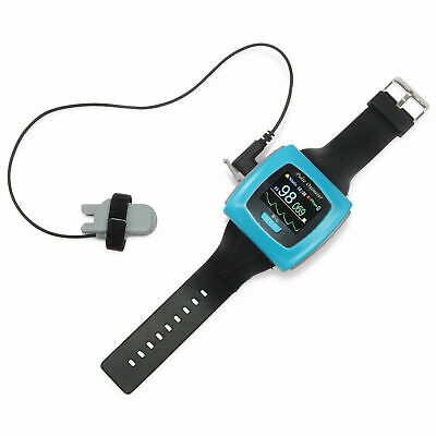 Cms50f Wrist Pulse Oximeter Fingertip Spo2 Pr Sleep Monitorpc Softwarealarmus