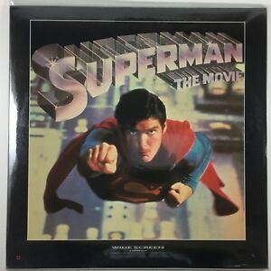 Superman Movie I & II - Laserdisc