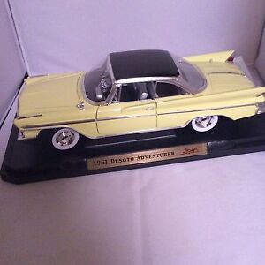 Die Cast Car 1961 Desoto 1:18 New Price