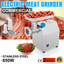 Meat Grinder Electric 1.14HP 850W Stainless Steel for Industrial Heavy Duty