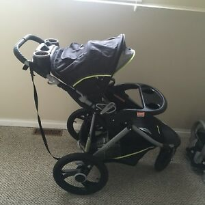 Car seat and jogging stroller combo
