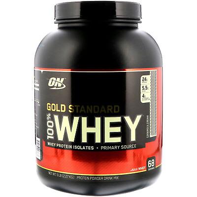 Optimum Nutrition  Gold Standard  100  Whey  Cookies   Cream  5 lbs  2 27 - Gold Standard Cookies