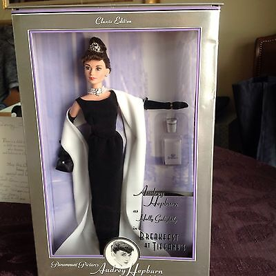 Audrey Hepburn As Holly Golightly in Breakfast At Tiffanys Classic Edition Doll