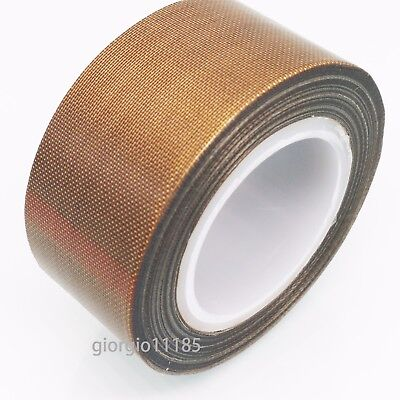 Us Stock Ptfe Teflon Adhesive Tape Nonstick 0.13mm X 25mm X 33ft