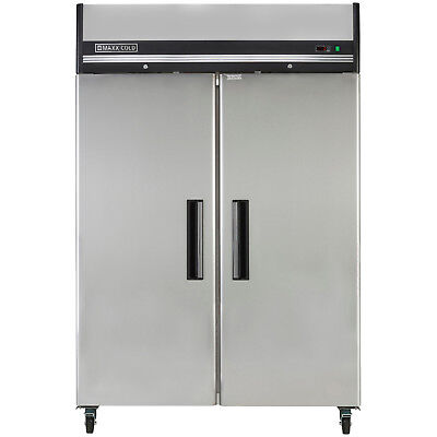 Maxx Cold 54 49 Cf Two Door Upright Reach-in Commercial Nsf Sub Zero Freezer
