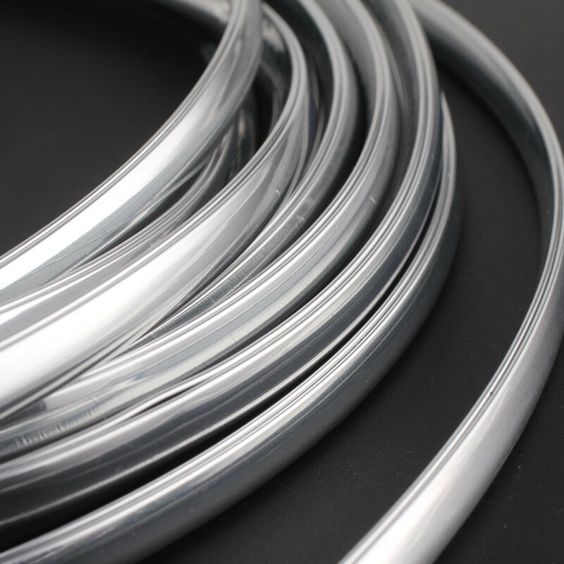 New 6m Chrome Moulding Trim Strip Car Door Edge Scratch