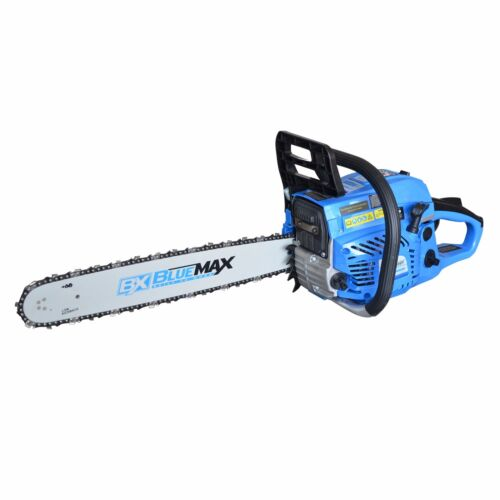 """Blue Max 20"""" 51.5cc Gas Powered Heavy Duty Chainsaw EPA Approved 53543"""