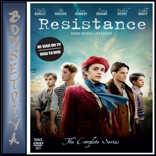 RESISTANCE - THE COMPLETE SERIES   *BRAND NEW DVD**