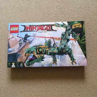 Lego 70612 - Ninjago movie - green mech dragon - new