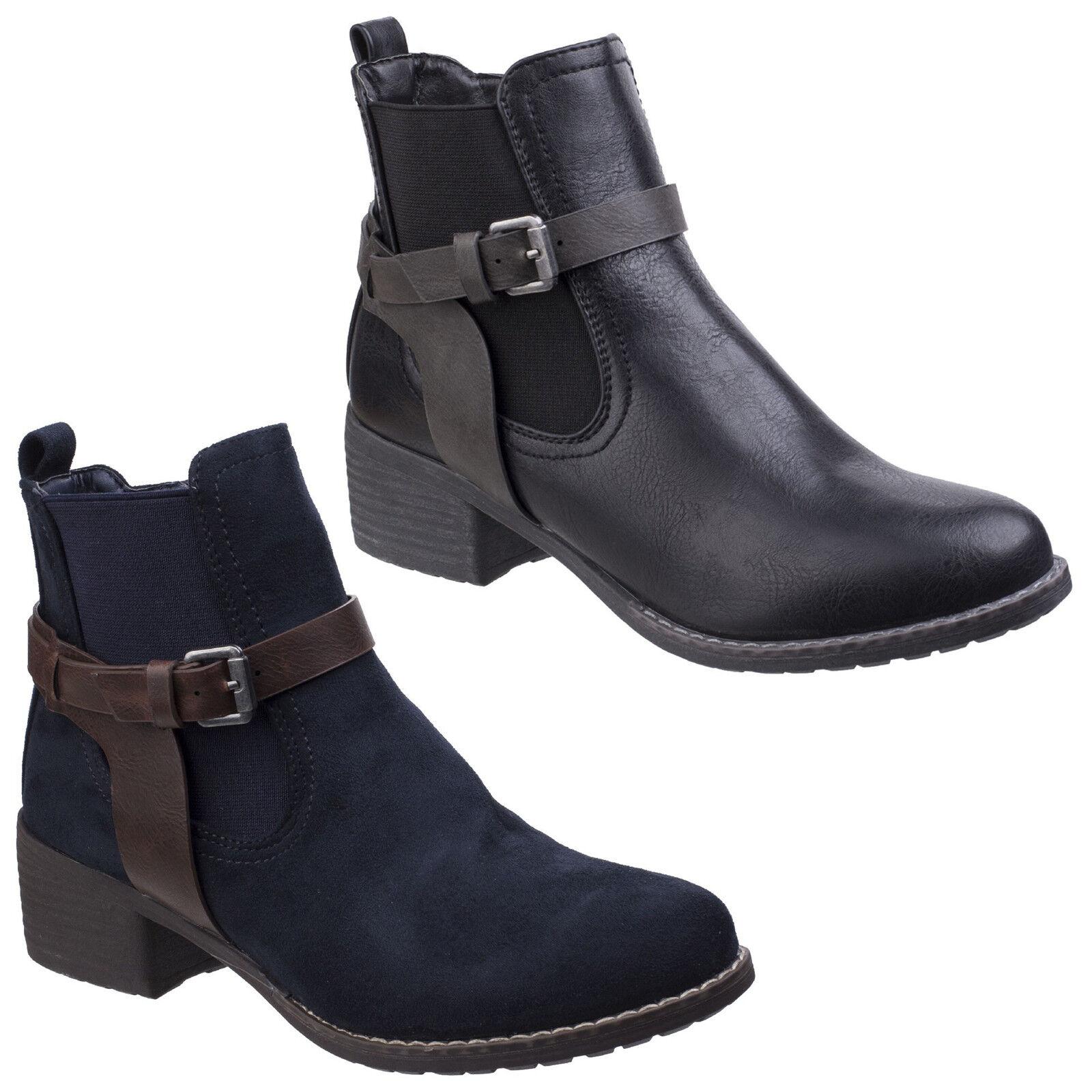 COTSWOLD Deerhurst brown leather ladies waterproof double zip boot size 3-8