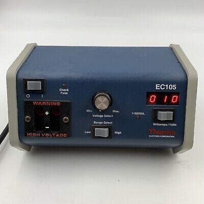 Thermo Electron Ec105 Electrophoresis Power Supply 105eca-lvd 240v