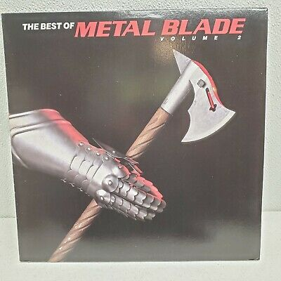 The Best of Metal Blade Volume 2 1987 2 LP Vinyls