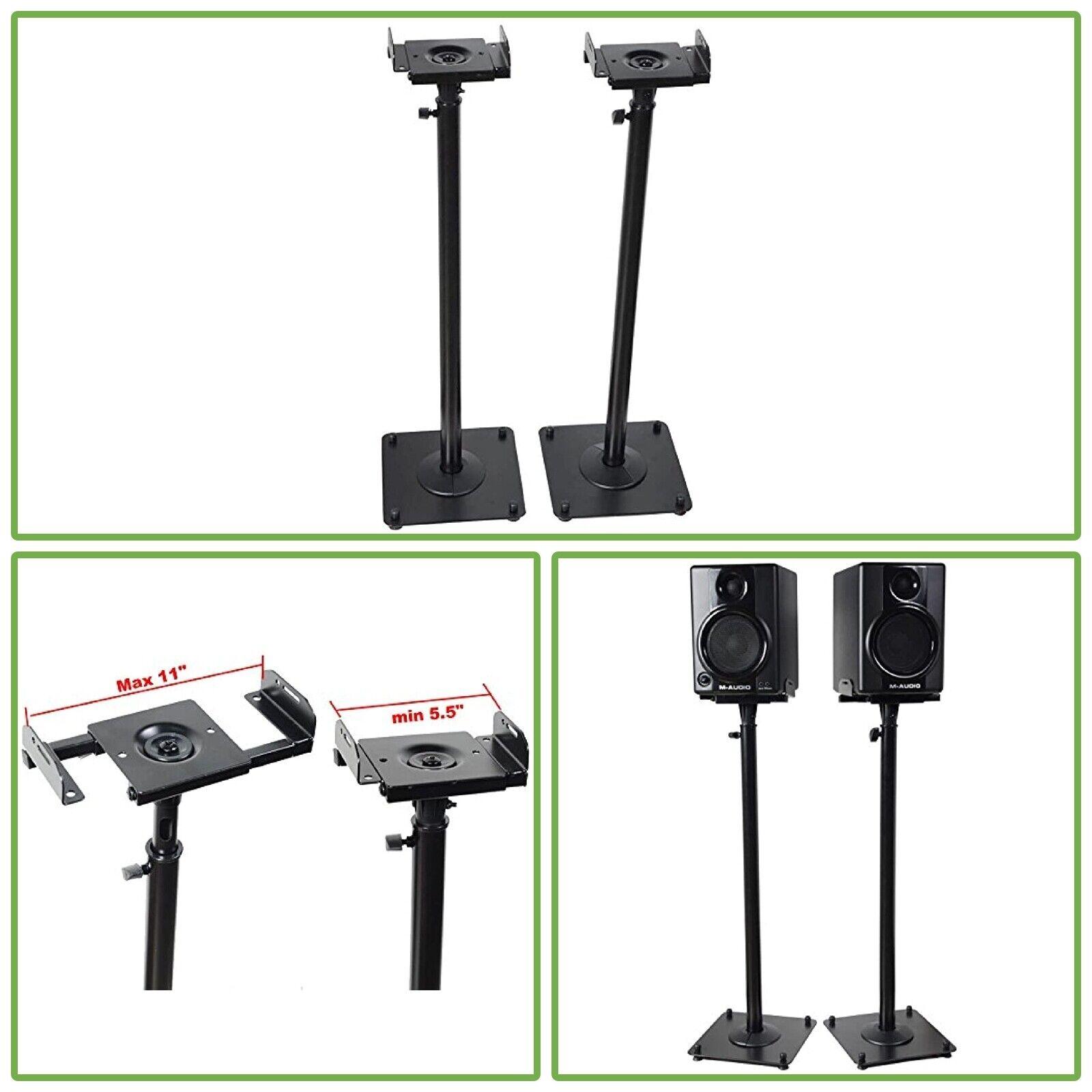 Studio Monitor Speaker Stand Height Adjustable Concert Band