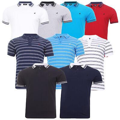 Mens Kangol Polo Shirt Short Sleeve Golf Badminton Sport Casual Top  6XL 5XL 2XL