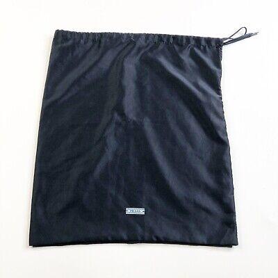 Prada Protective Dust Bag Midnight Blue Satin Travel 15x13