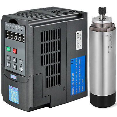 1.5kw Air-cooling Spindle Motor And 1.5kw Variable Frequency Drive Invertervfd