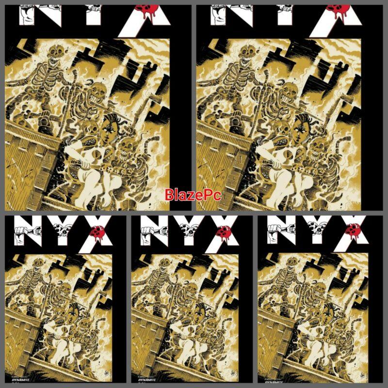 NYX #1 TMNT Homage Foc Bundle Options Dynamite Ken Haeser Presale 11/10