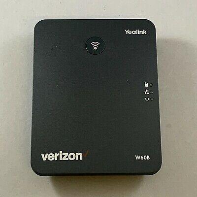 Verizon Yealink W60B DECT IP Base Station Black *Base Station ONLY