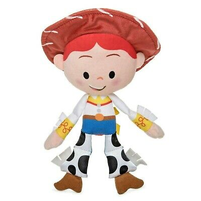 Disney Store Toy Story JESSIE Plush Baby Hand held Rattle-NEW w/tags-Free Ship