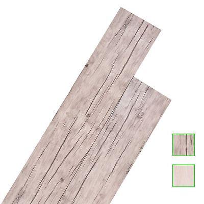 vidaXL Laminat Dielen PVC 5,02m² Selbstklebend Vinyl Fußboden mehrere Auswahl