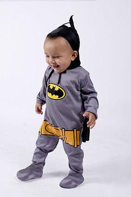 Baby Batman Halloween Costume Infants Toddlers Boys / Girls3 months- 12months](Batman Toddler Girl Costume)