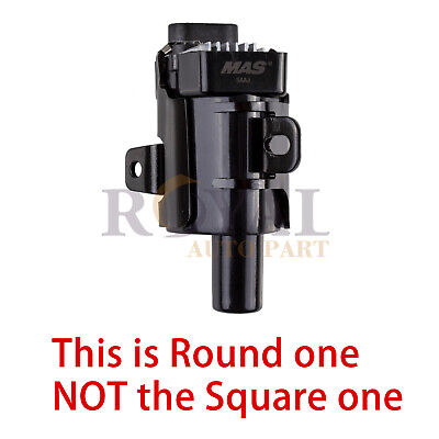 - Round Ignition Coil on Plug Pack For CHEVROLET Silverado Avalanche D585 UF262