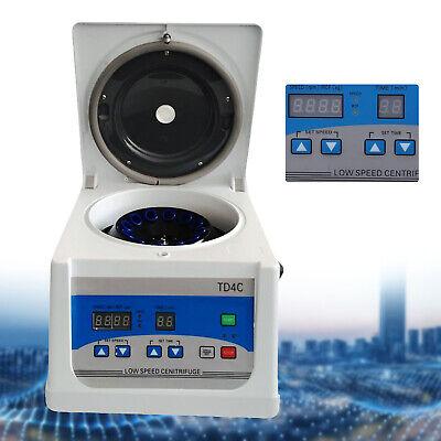 Td4c Medical Beauty Prp Centrifuge Lab Blood Low Speed Centrifuge 110v 815ml Us