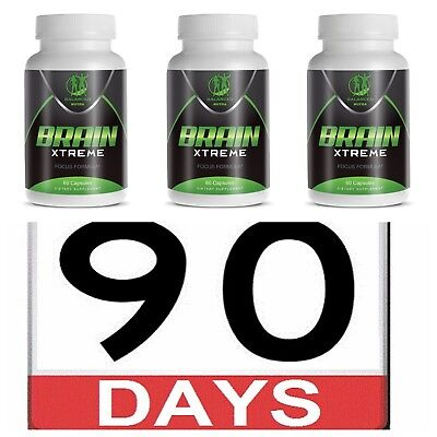 Brain Supplement Pills good for Focus & Memory Concentration Energy 90 Day (Pack Supplement Pills)