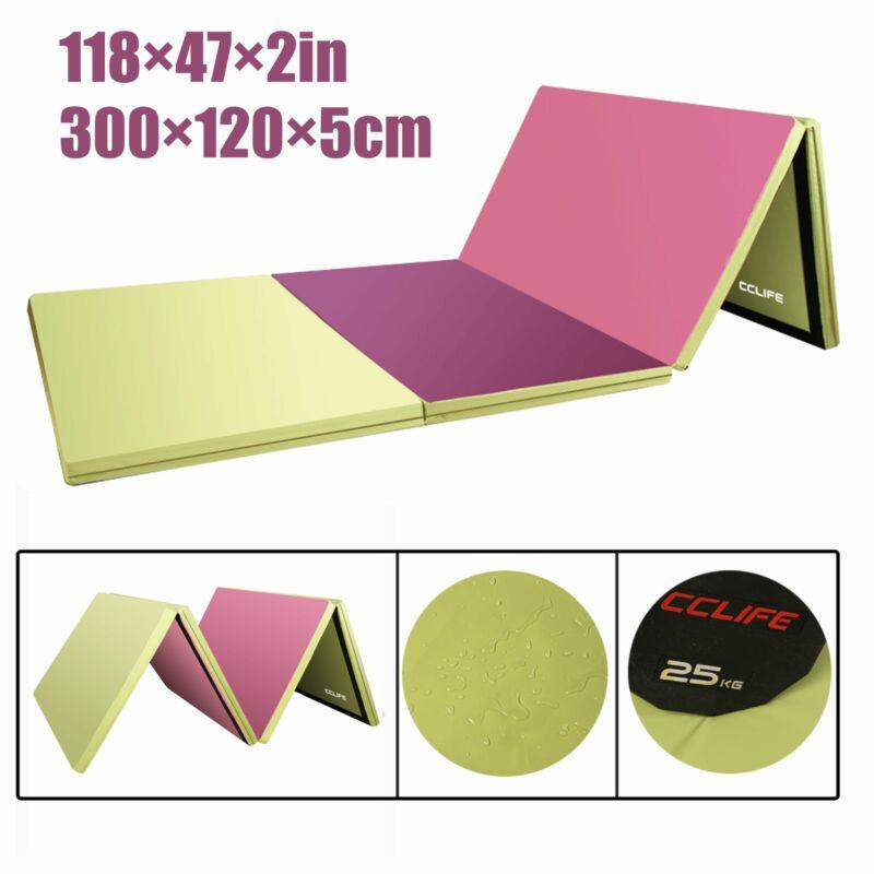 Klappbar Turnmatte Weichbodenmatte Gymnastikmatte Yogamatte Fitnessmatte 300x120