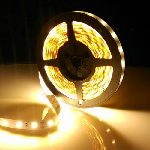 10M 300LEDs 3528 SMD Flexible LED Streifen Licht Stripes Band Warmweiß 12V IP20